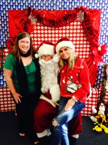 foster santa with the Elves