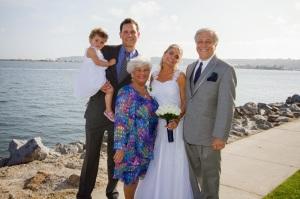 wedding blake family