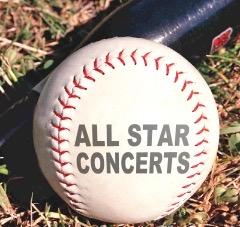all star concerts baseball