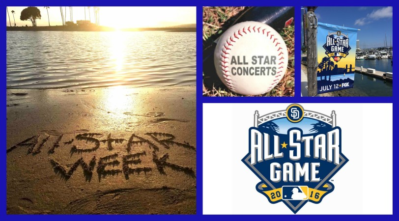 all star week collage
