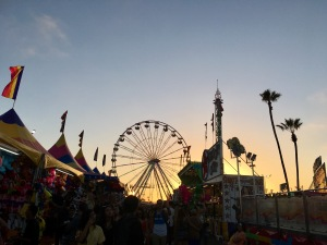 san diego fair sunset